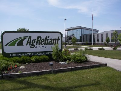AgReliant Building Sign